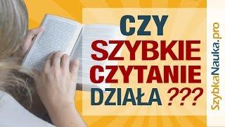 Szybkie czytanie - czy to w ogóle działa?