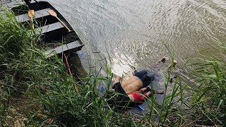 Image of drowned father and daughter who tried to cross to US shocks world