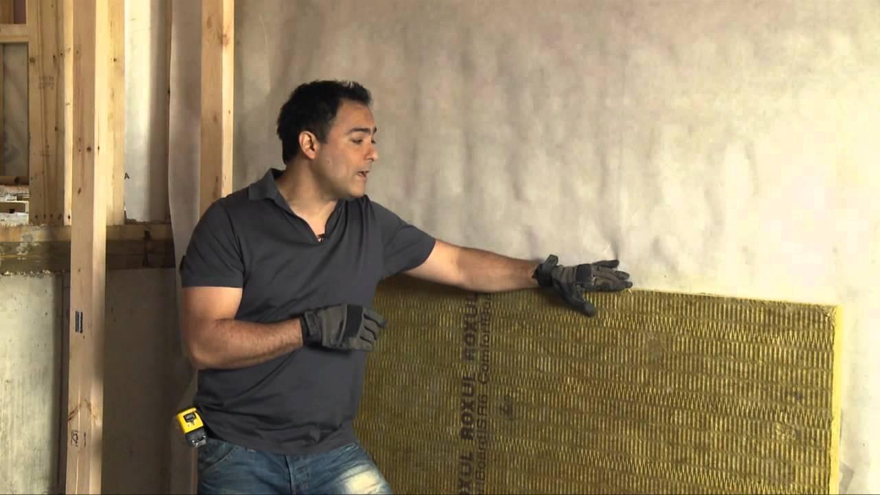 C mo aislar el lado interior de una pared de cimentaci n for Como tapar la humedad de la pared