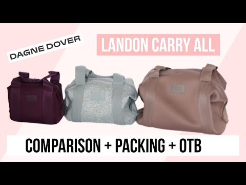 dagne-dover-landon-carry-all-comparison- -xs-small-medium-review-+-packing
