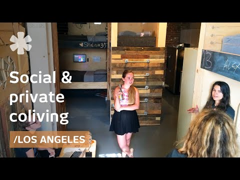LA coliving: PodShare's permeable intersection between socia
