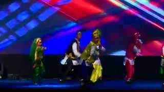 Gabru honey singh - bhangra performance - Rockstar Academy chandigarh- Dance o mania