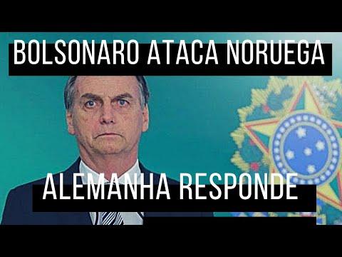 ALEMANHA RESPONDE CRÍTICAS DE BOLSONARO