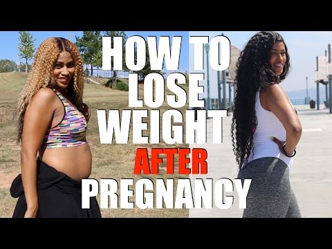 HOW TO LOSE WEIGHT AFTER PREGNANCY | SNAPBACK AFTER GIVING BIRTH | CHINACANDYCOUTURE FITNESS