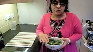 Okra Recipe - How To Cook Assyrian Iraqi Lamb Bamieh With Rice Part 1/2