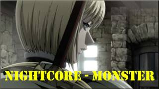 Repeat youtube video 【HD】~Nightcore~ Monster (Dubstep) Remix