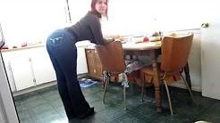 Fickärsche in Jeans
