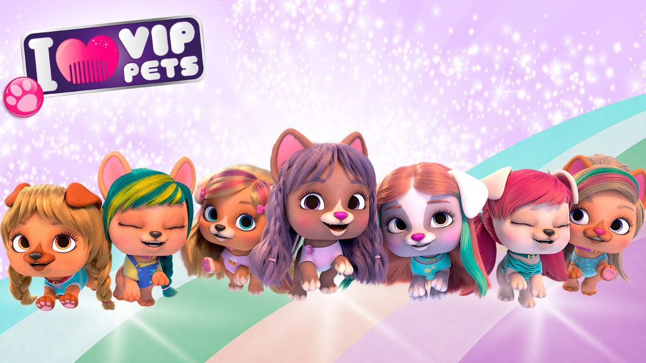 💇🏼 FIRST FULL SEASON 💇🏼 VIP PETS 🌈 FULL EPISODES 💇🏼 CARTOONS and VIDEOS for KIDS in ENGLISH