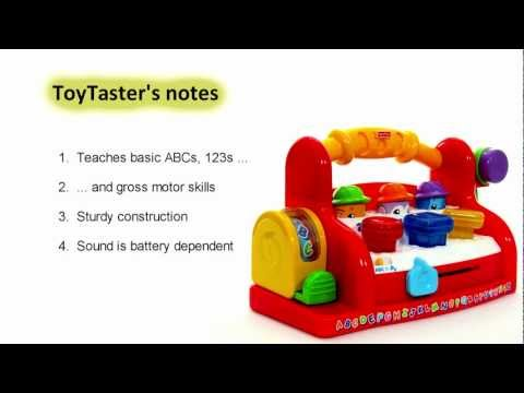 Fisher Price  Toys | Laugh & Learn Tool Bench Toy Review