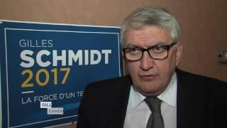 Législatives : le centriste Gilles Schmidt candidat dans la 10 ème circonscription