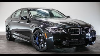 homepage tile video photo for BMW F10 M5 Competition Package - One Take