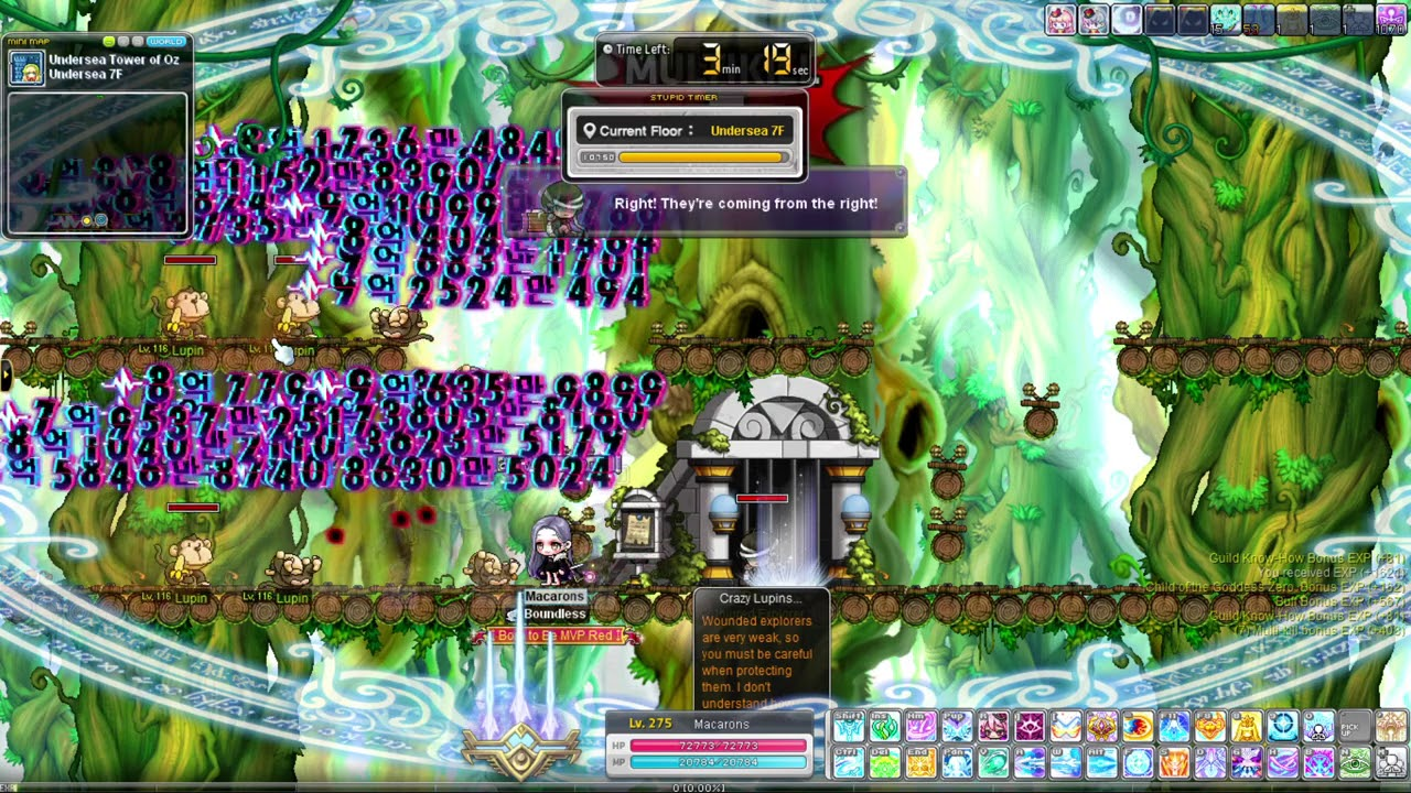 Maplestory: Tower of Oz Guide (1F-41F)