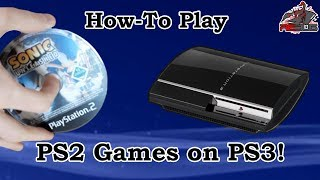 How To Play PS2 Disc Games on a PS3! (Software Emulation!)