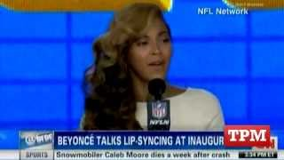 Beyonce Admits To Lip-Syncing National Anthem At Inauguration