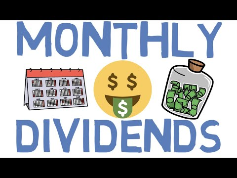 Dividend Investing - Best Monthly Dividend Stocks/ETFs to Buy for 2020