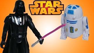 Oyuncak Figürü | Star Wars - Darth Vader ve  R2D2 | Süper Oyuncaklar