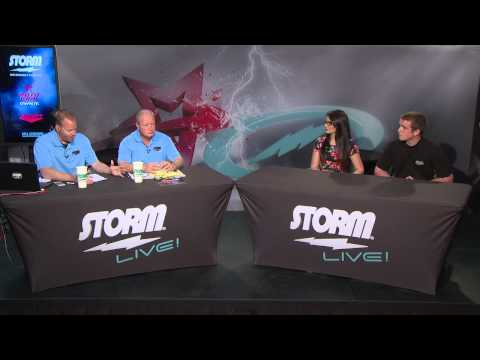 Storm Live, Discussing Youth Bowling at Bowl Expo