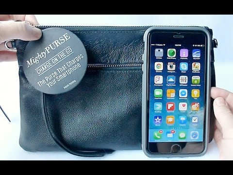 Mighty Purse: The Purse that Charges Your Phone!