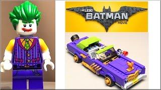 Лего Фильм Бэтмен 70906 Лоурайдер Джокера. Обзор LEGO Batman Movie Joker Notorious Lowrider