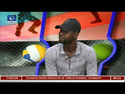 Jonathan Igbinovia On Tennis Development In Nigeria Pt 1 | Sports This Morning |