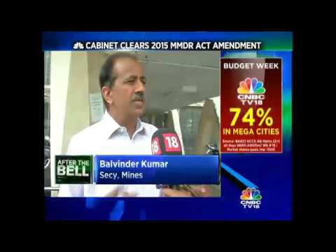 Cabinet Clears 2015 Mmdr Act Amendment