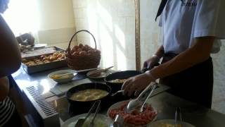 Завтрак в пансионате Селена/Анапа Витязево/ Детская комната