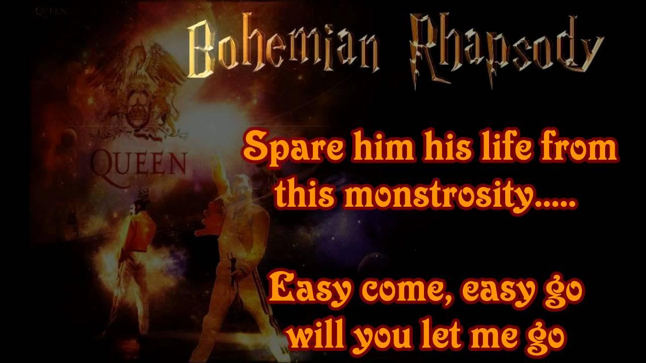 bohemain rhapsody Queen - bohemian rhapsody (tradu o) (m sica para ouvir e letra da m sica com legenda em portugu s) mama, oh / (anyway the wind blows) / i don't want to die / but sometimes wish.