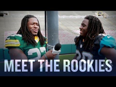 Denard Robinson and Eddie Lacy Interview Top Rookies (2013 NFLPA Rookie Premiere)