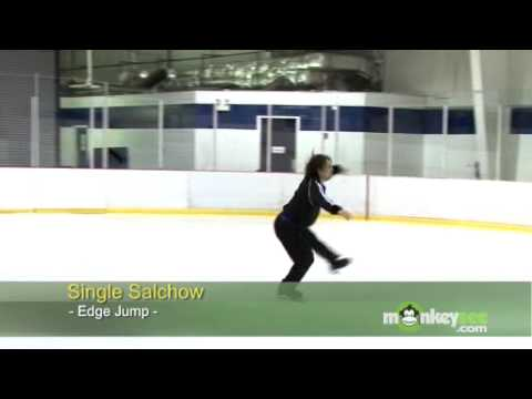 Ice Skating - The Single Salchow