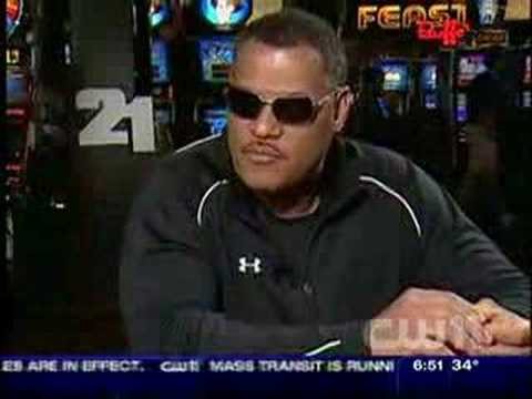 Actor Lawrence Fishburne In New Movie