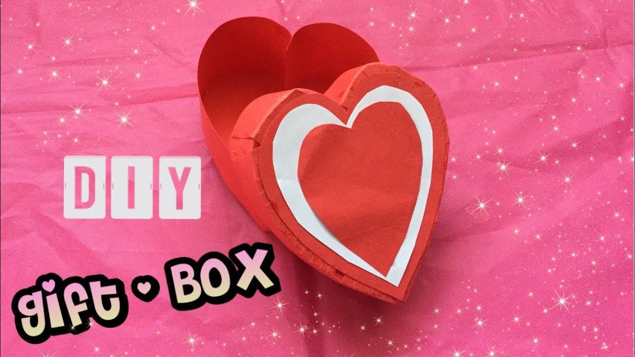 Diy Gift Box Knutselen Van Papier Voor Valentijn Moederdag Vaderdag Idee