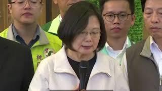 """蔡英文喊话北京:一国两制""""不可能"""""""