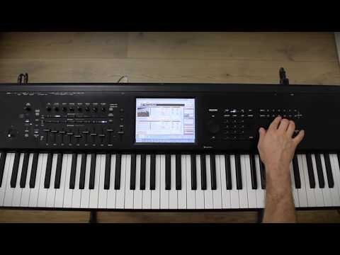 Korg Kronos Tutorial: Assign Note Transposition To SW1 And SW2