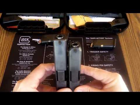 Glock 19 vs Glock 27