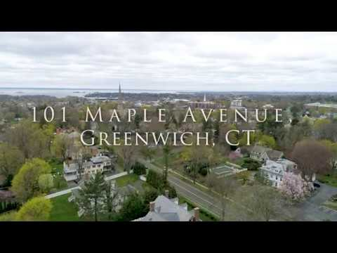 Greenwich CT real estate - 101 Maple Avenue, presented by Charles Nedder