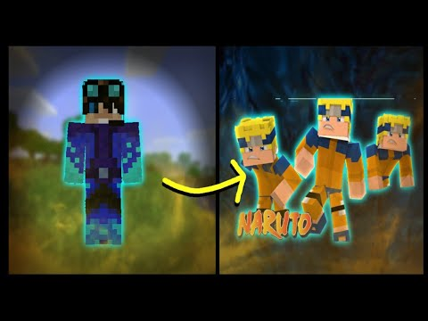 Minecraft (MCPE)-How To Make Naruto's Power Using Commands