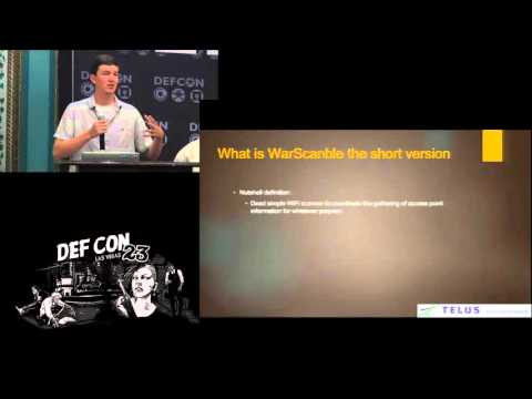 DEF CON - Panel - Guests N Goblins:  Exposing Wi Fi Exfiltration Risks and Mitigation