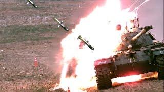 북한 전차 반응장갑을 관통하는 대전차유도무기 현궁! 품질인증 사격 시험 성공 올해부터 본격 양산 돌입