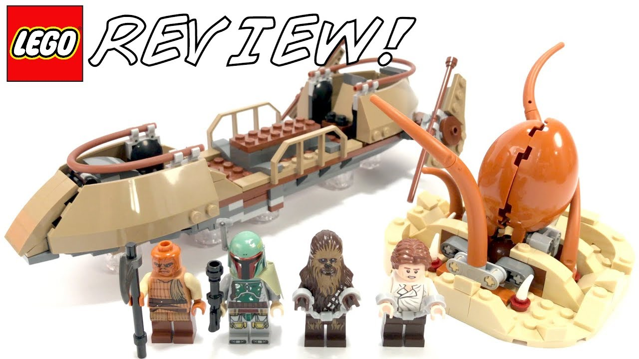LEGO 75174 Desert Skiff Review! | LEGO Star Wars Spring 2017 Set!