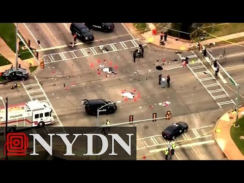 WATCH IT: Video the Moment Driver Slams Into Oklahoma State University Parade