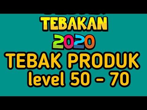Jawaban Tebak Produk Level 50 70 Youtube