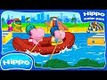 Hippo 🌼 Water Park 🌼 Fun Water Slides 🌼 New games 🌼 Cartoon Game Review