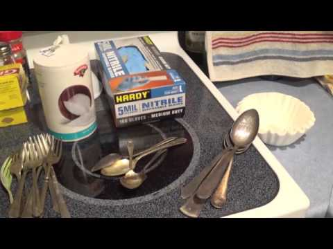 The Moose Scrapper Show Ep 1 Removing silver plate without acid