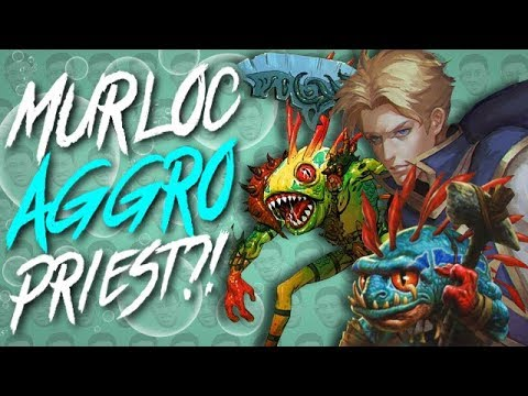 KOREAN AGGRO MURLOC PRIEST?! - Standard Constructed - The Witchwood