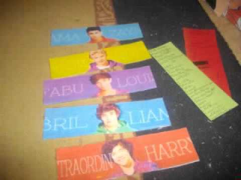 Ma collection One Direction
