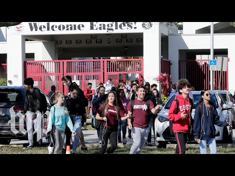 Students across the country walk out to protest gun violence