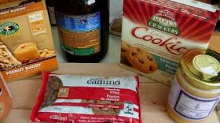 Transitional Products ~  Non-dairy Gluten-free Organic Snack Recipe ~ Vid#54