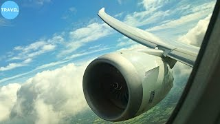 STUNNING   Norwegian 787-9 Dreamliner Landing at London Gatwick Airport!