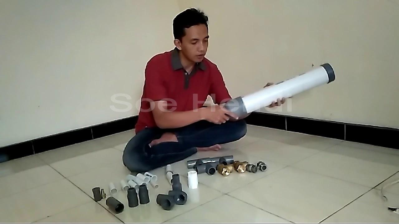 Cara Cepat Membuat Pompa Air Tanpa Listrik Youtube