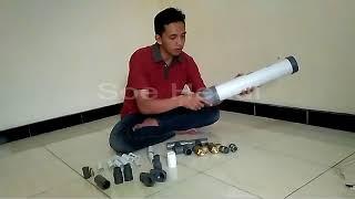 Cara Cepat Membuat Pompa Air Tanpa Listrik